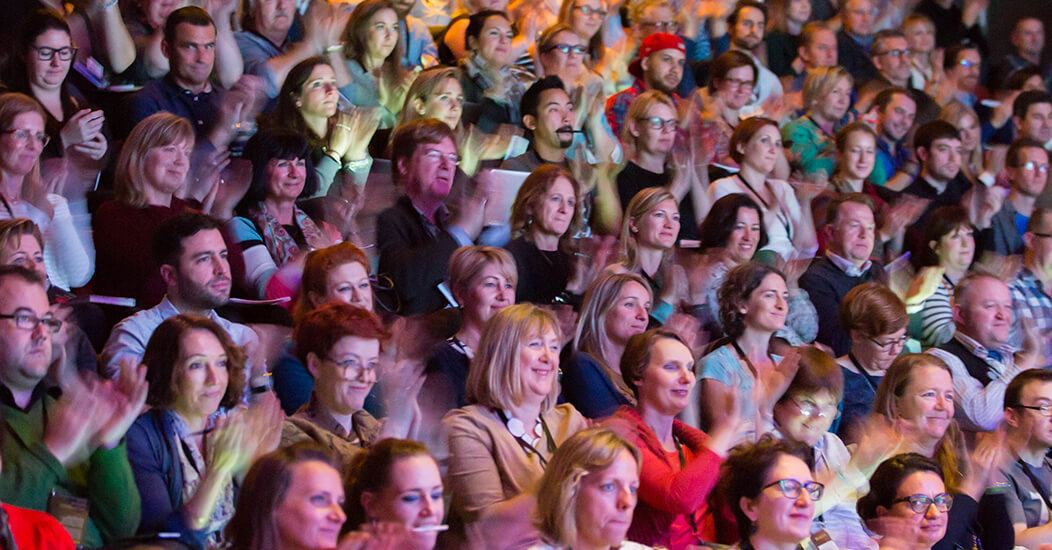 The audience at Meaning