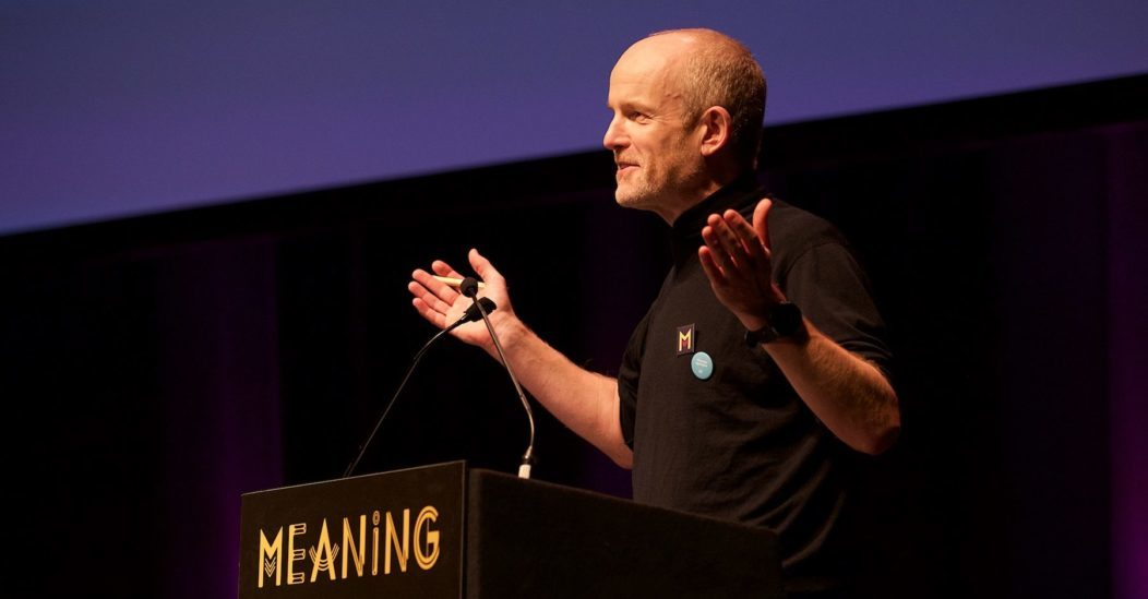 Andrew Simms at Meaning 2018
