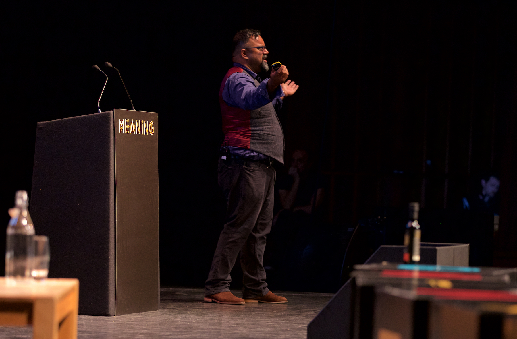 Atif Choudhury at Meaning 2018