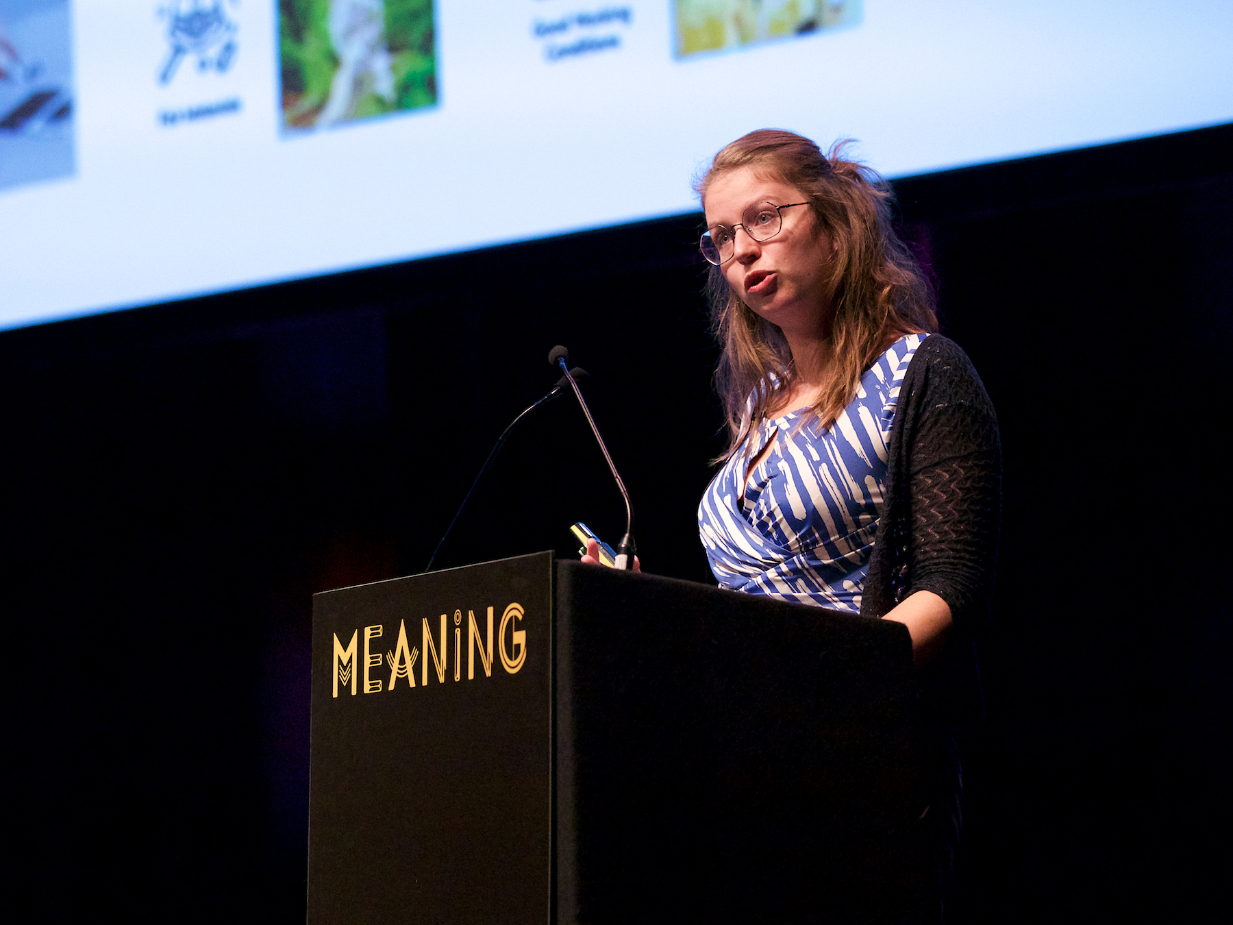 Bibi Bleekemolen at Meaning 2018