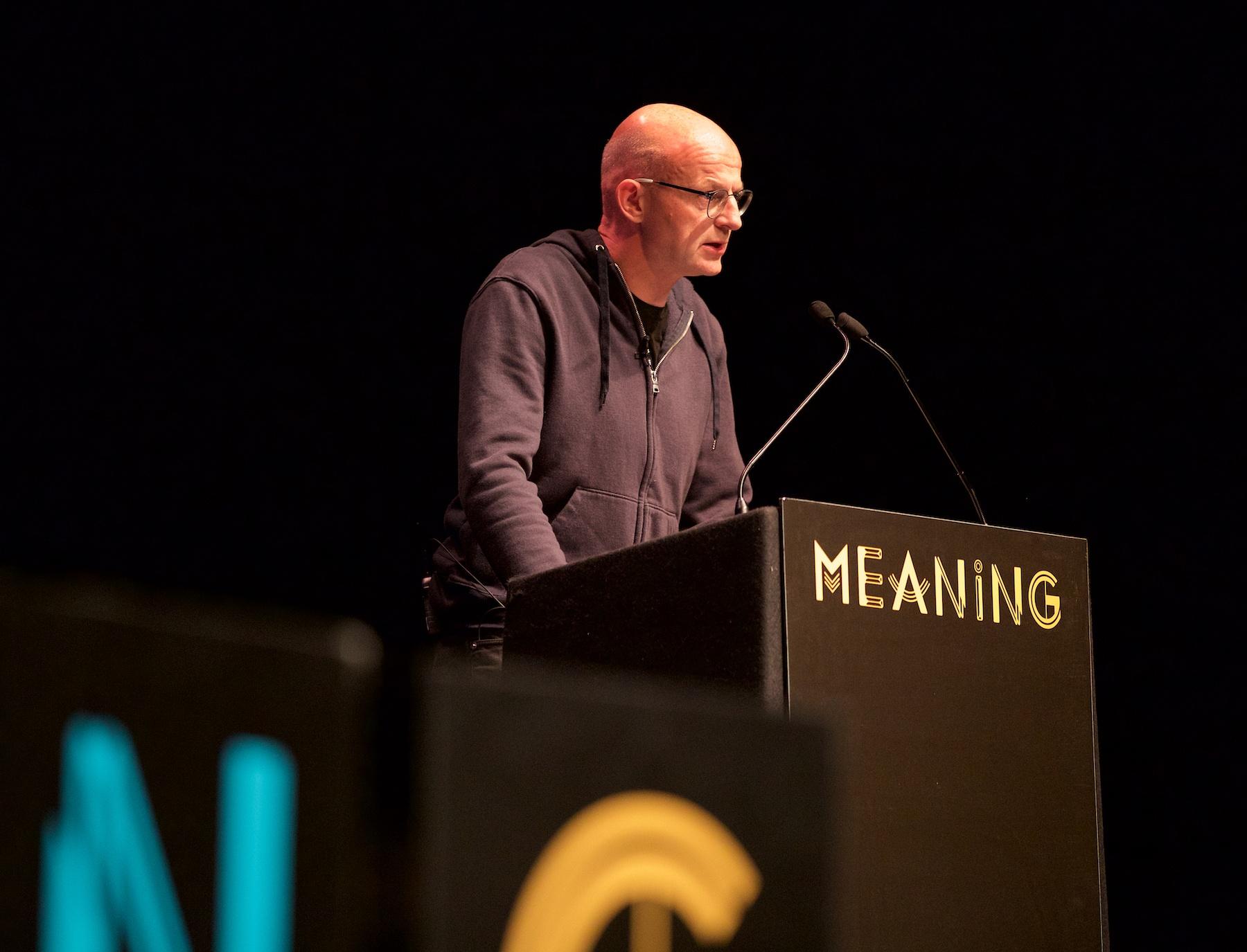 Dan McQuillan at Meaning 2018