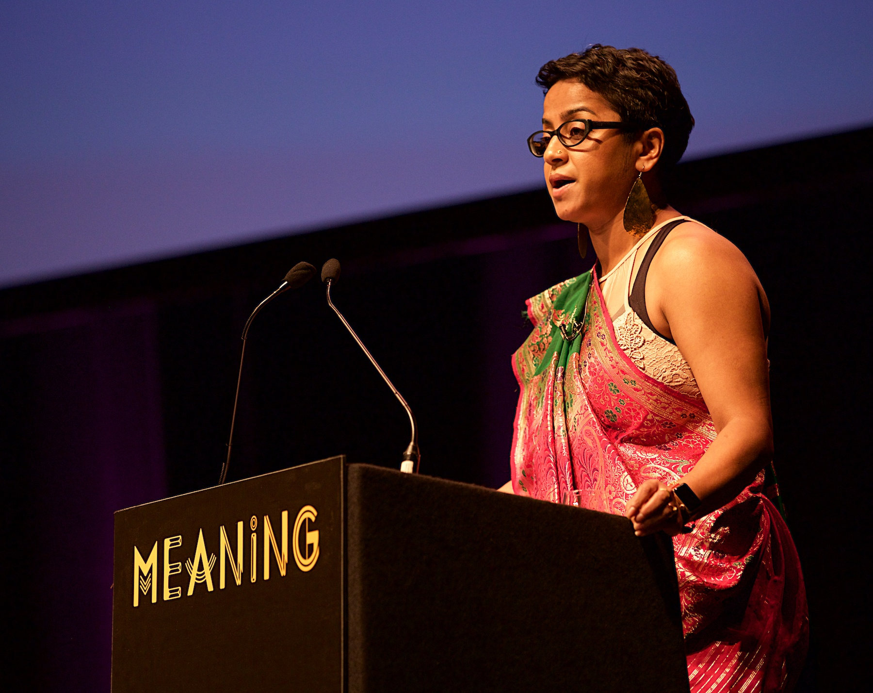 Poppy Jaman at Meaning 2018